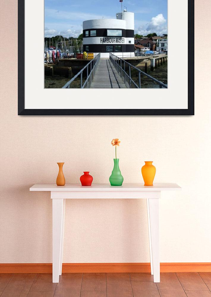 """""""Warsash Harbourmaster Office&quot  (2009) by nemosphotography"""