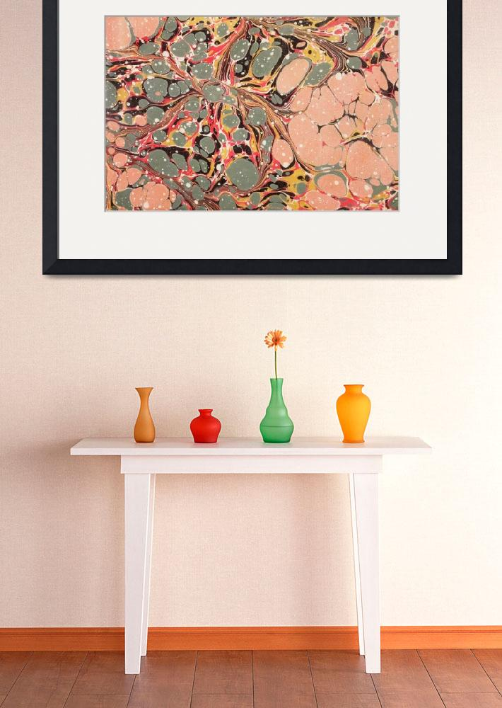 """""""Decorative end paper (colour litho)""""  by fineartmasters"""