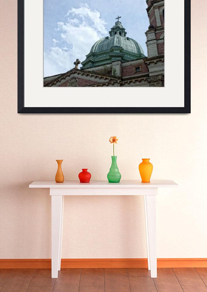 """""""Church in Polish Hill&quot  (2009) by colgdrew"""