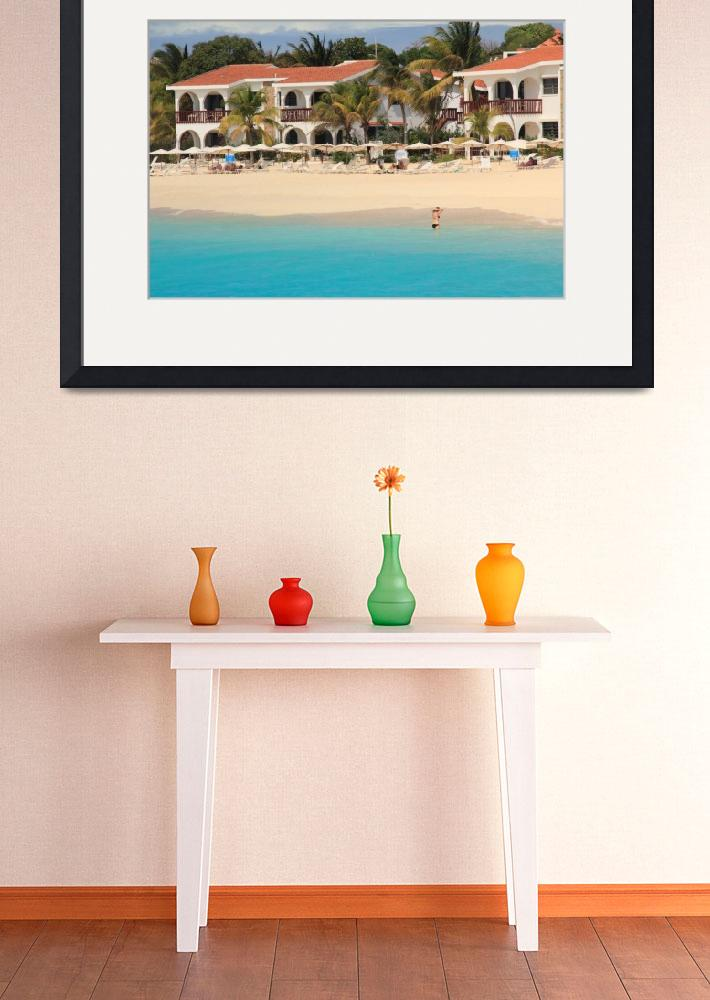 """""""Meads Bay, Anguilla&quot  (2013) by RoupenBaker"""
