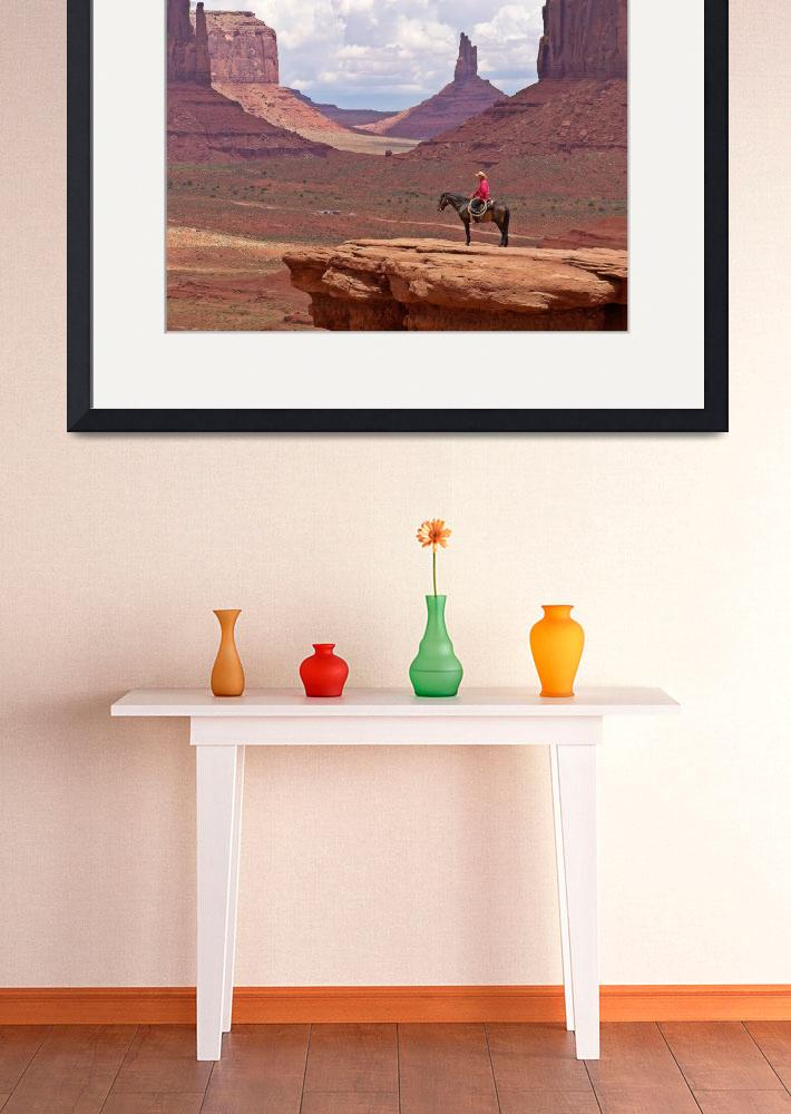 """""""Monument Valley""""  (2010) by scanale"""