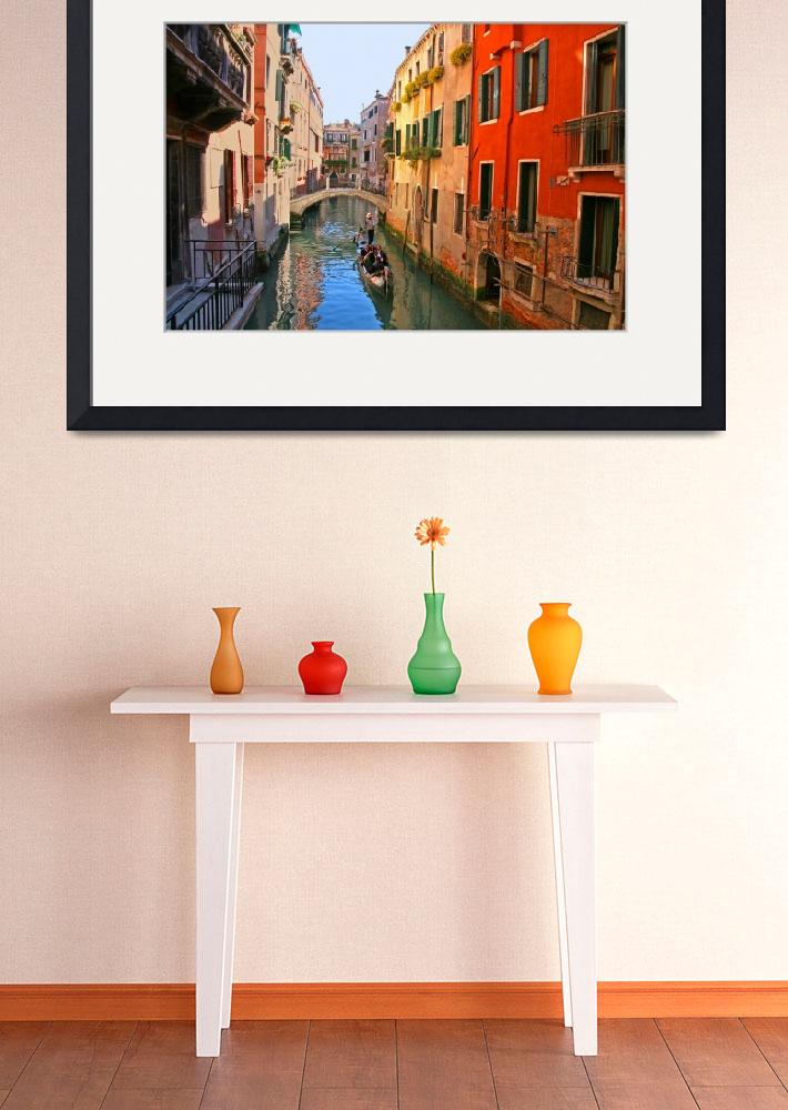 """""""Tranquil Venice canal beauty&quot  (2008) by marywhitmer"""