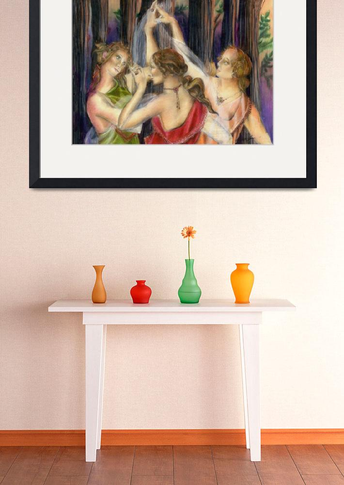 """""""The Three Graces&quot  (2011) by AlmaLee"""