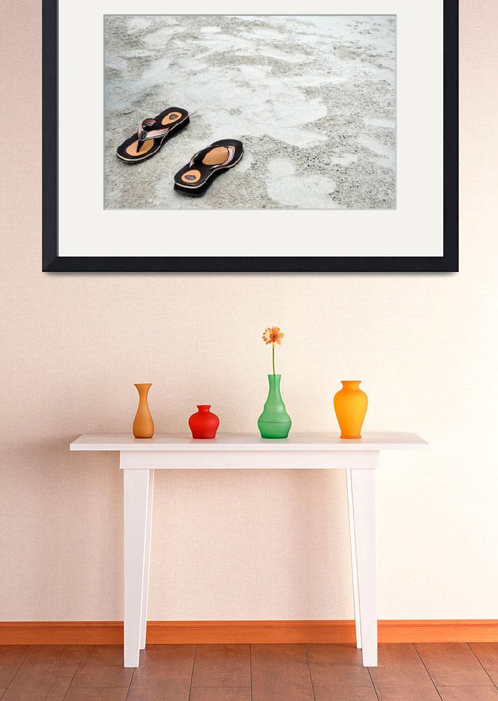 """""""Sandals On a Beach&quot  (2009) by RTMacGowan"""