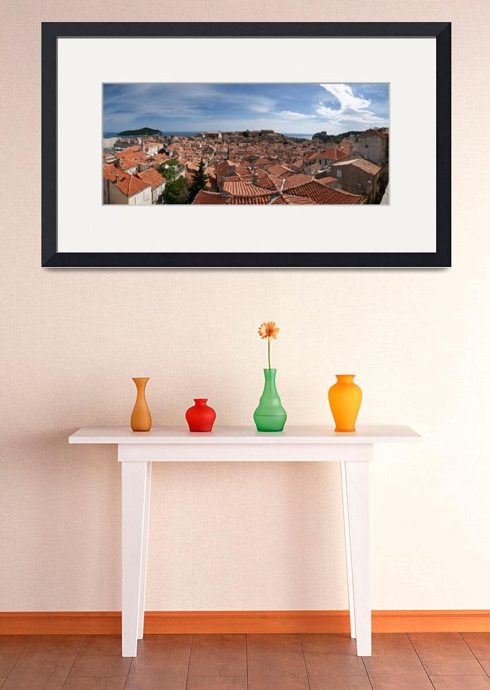 """Dubrovnik Old Town Panorama&quot  by reds42"