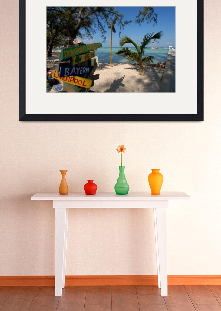 """""""Cayman Islands : Rum Point Mornings (1 of 4)&quot  by RonScott"""