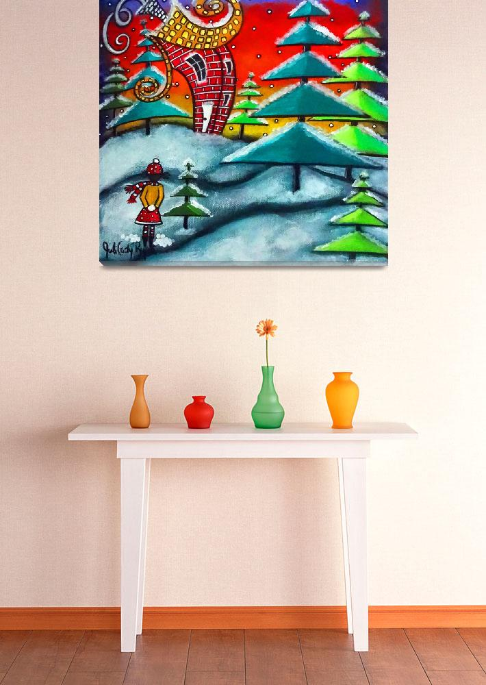 """""""The Snowball Fight""""  (2014) by juliryan"""