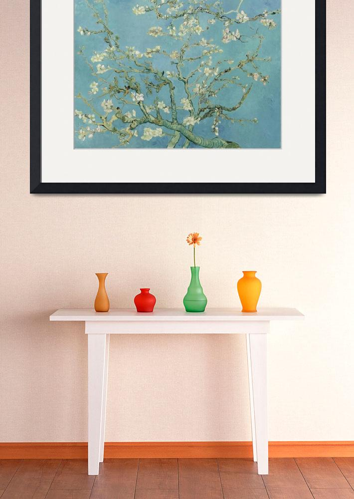 """Almond Blossom - Vincent Van Gogh&quot  by VintageArtPosters"