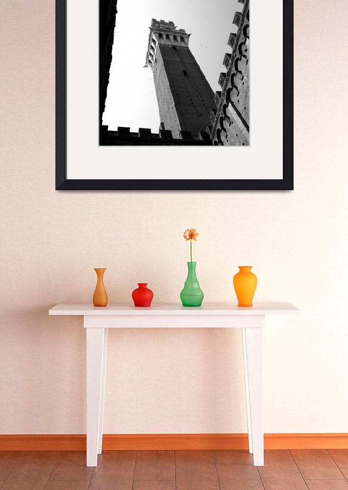 """ROMAN HOLIDAY - Framed Campanile""  (2008) by moderatefanatic"
