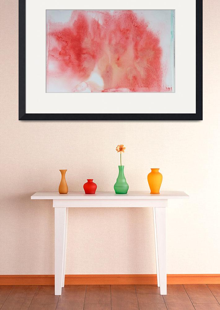 """""""ORL-10484 Watercolor Coastal Abstract 163&quot  by Aneri"""