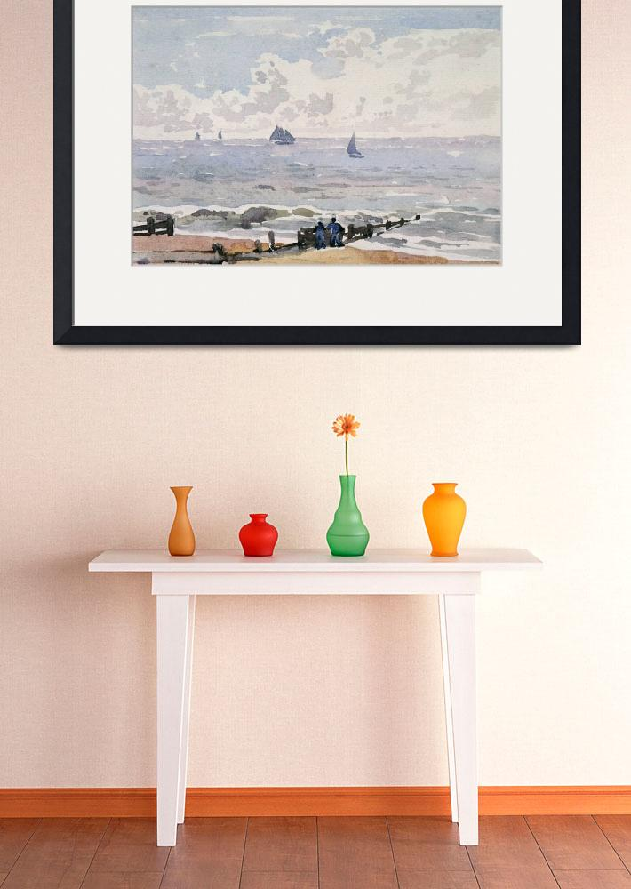 """""""Seascape from the Beach, Aldeburgh&quot  by fineartmasters"""