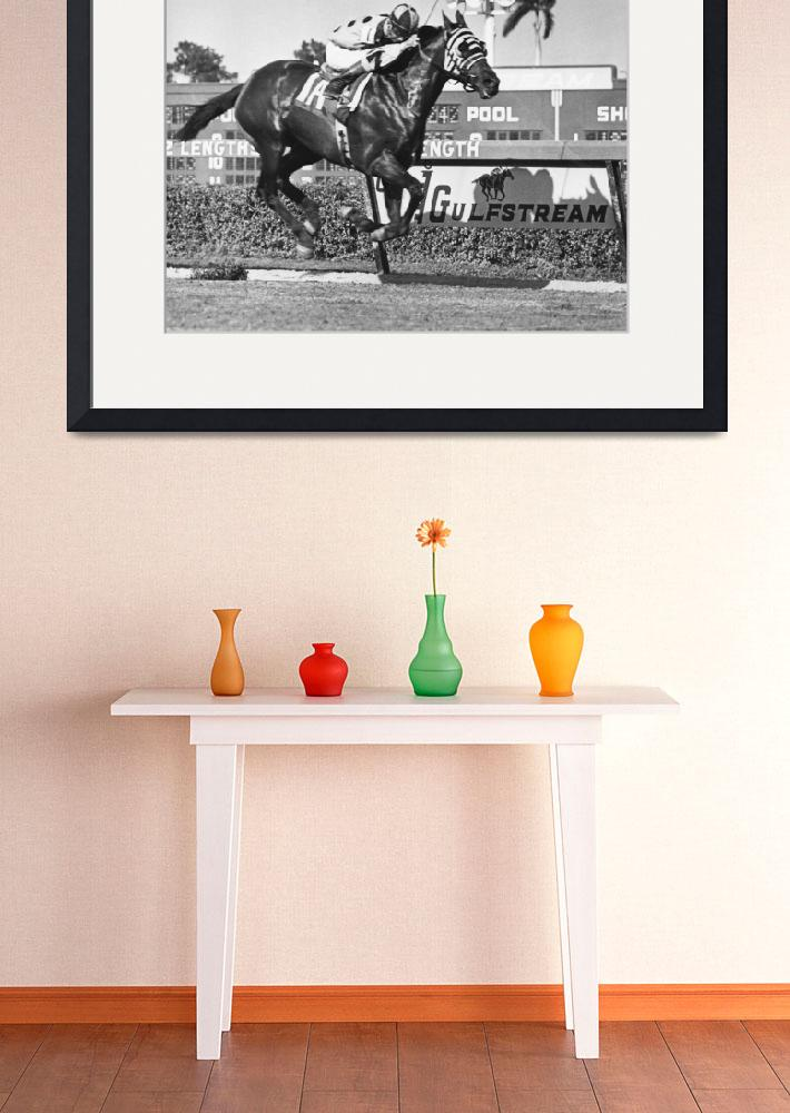 """Tronado Horse Racing Vintage&quot  by RetroImagesArchive"
