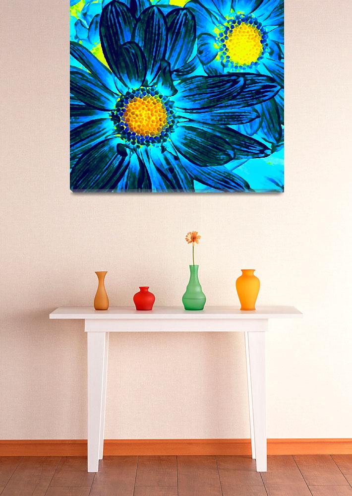"""""""Pop Daisies 7&quot  (2012) by AmyVangsgard"""