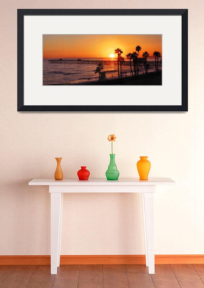 """San Clemente Pier (Panorama)""  by pbk"
