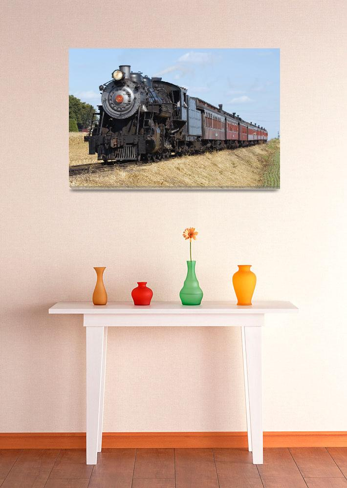 """""""Steam Locomotive&quot  by picmeister"""