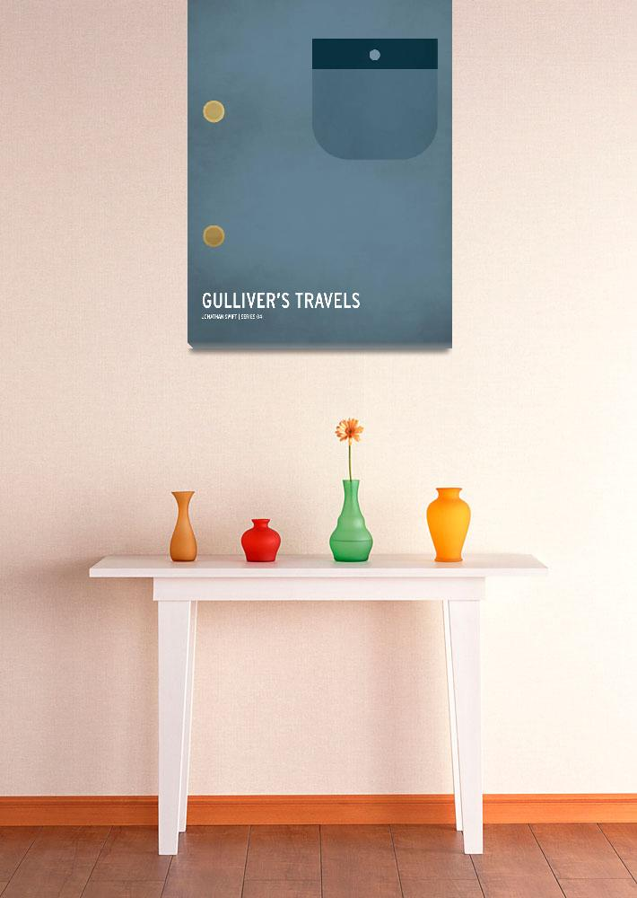 """""""Gullivers Travels""""  (2013) by squareinchdesign"""
