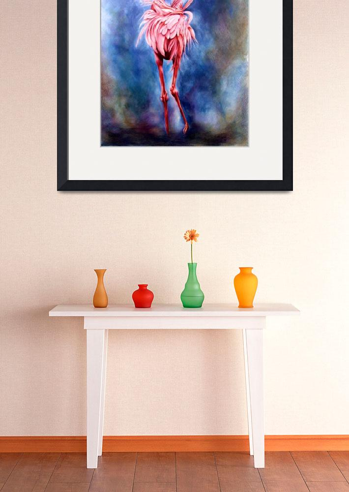 """""""Flamingo&quot  by TracyWolfe"""