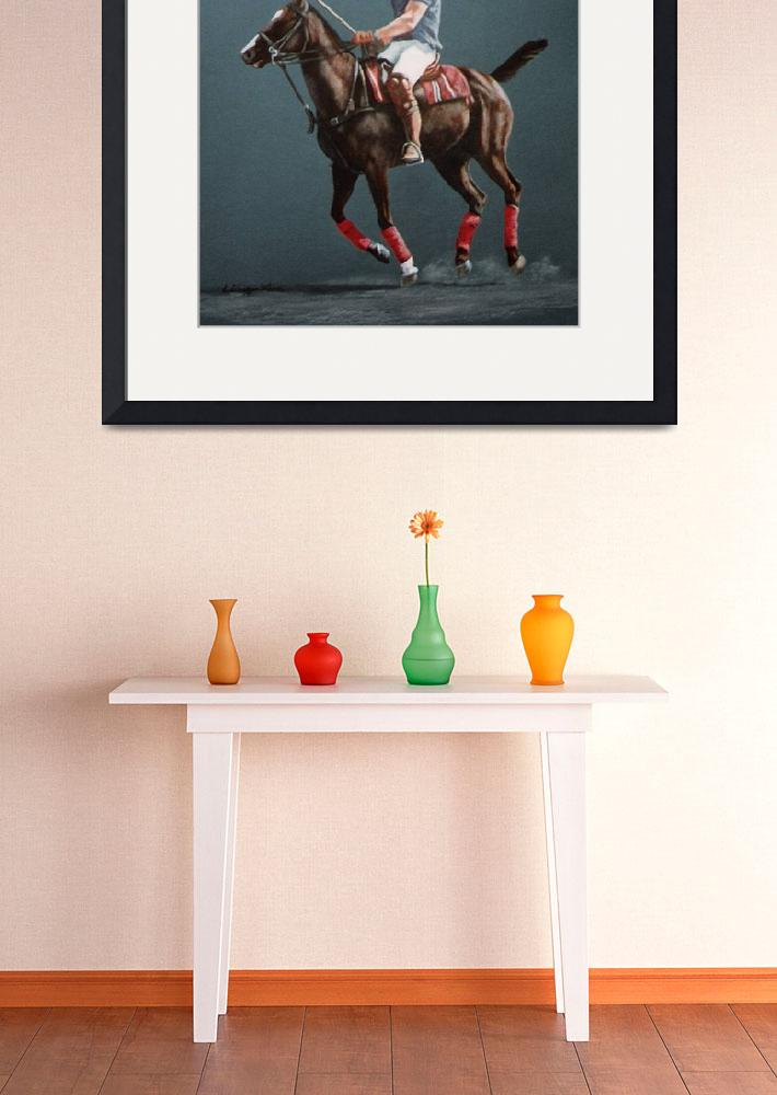 """""""Polo Pony painting&quot  by AnimalsbyDiDi"""