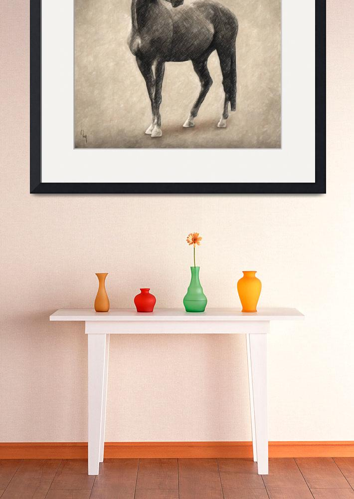 """""""Le Cheval&quot  (2018) by taylansoyturk"""