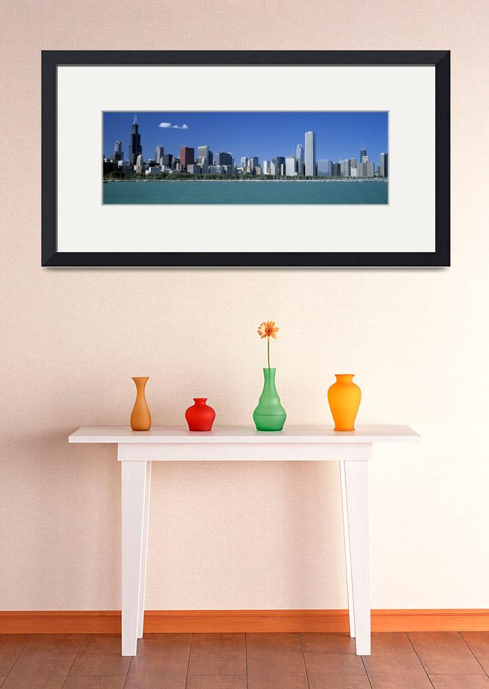 """Skyline Chicago IL&quot  by Panoramic_Images"