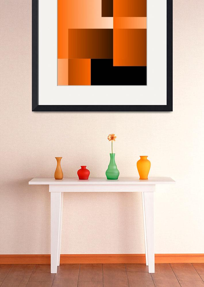 """Orange Shinning Through&quot  (2014) by CJMoy"