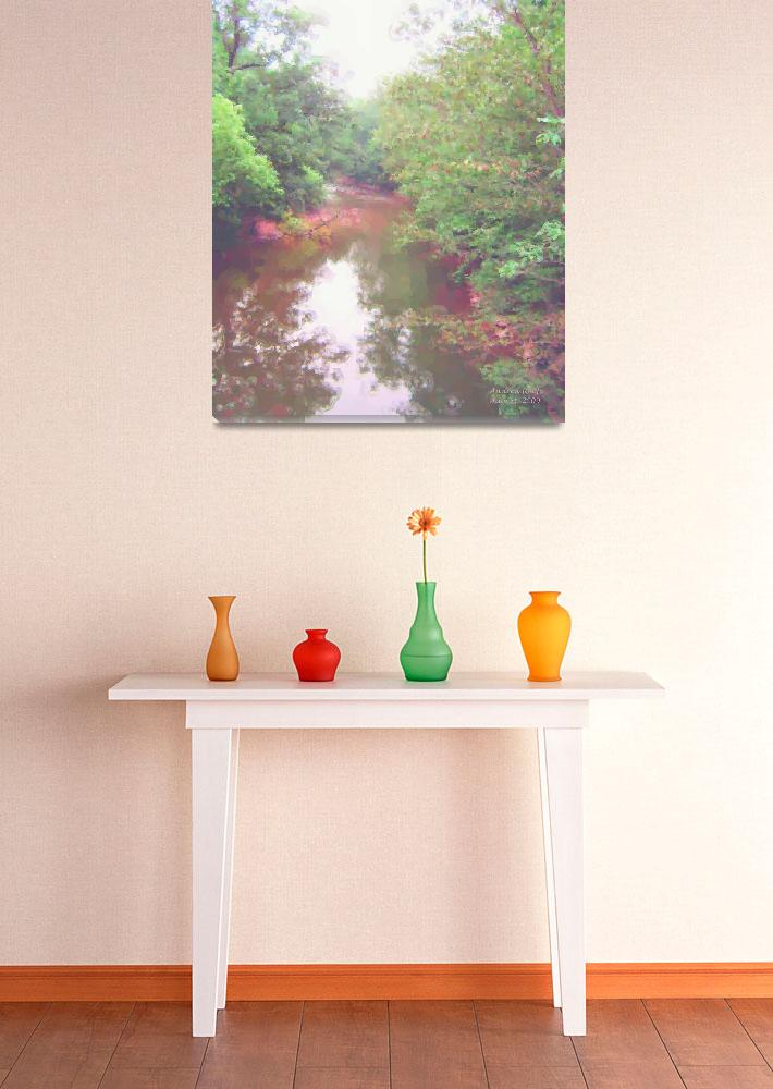 """""""Summer along the Wissahickon (2009)&quot  (2009) by andreasworld"""