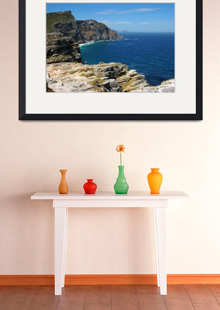 """""""Ocean View from the Cape of Good Hope""""  (2009) by Just4Fun"""