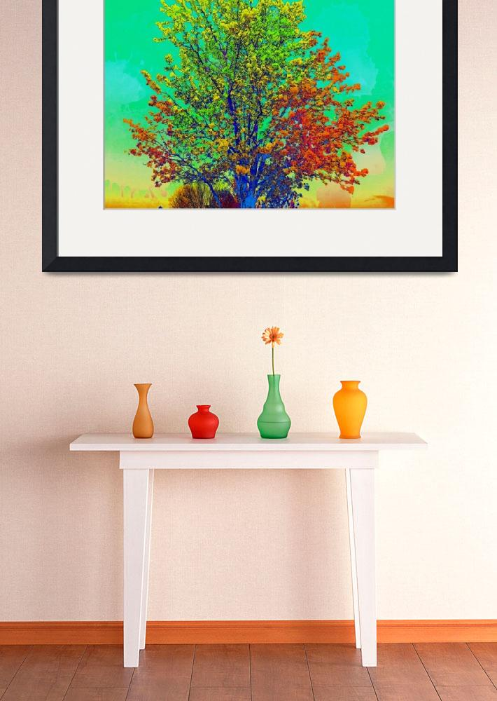 """""""tree 2 colorful2""""  by lizmix"""