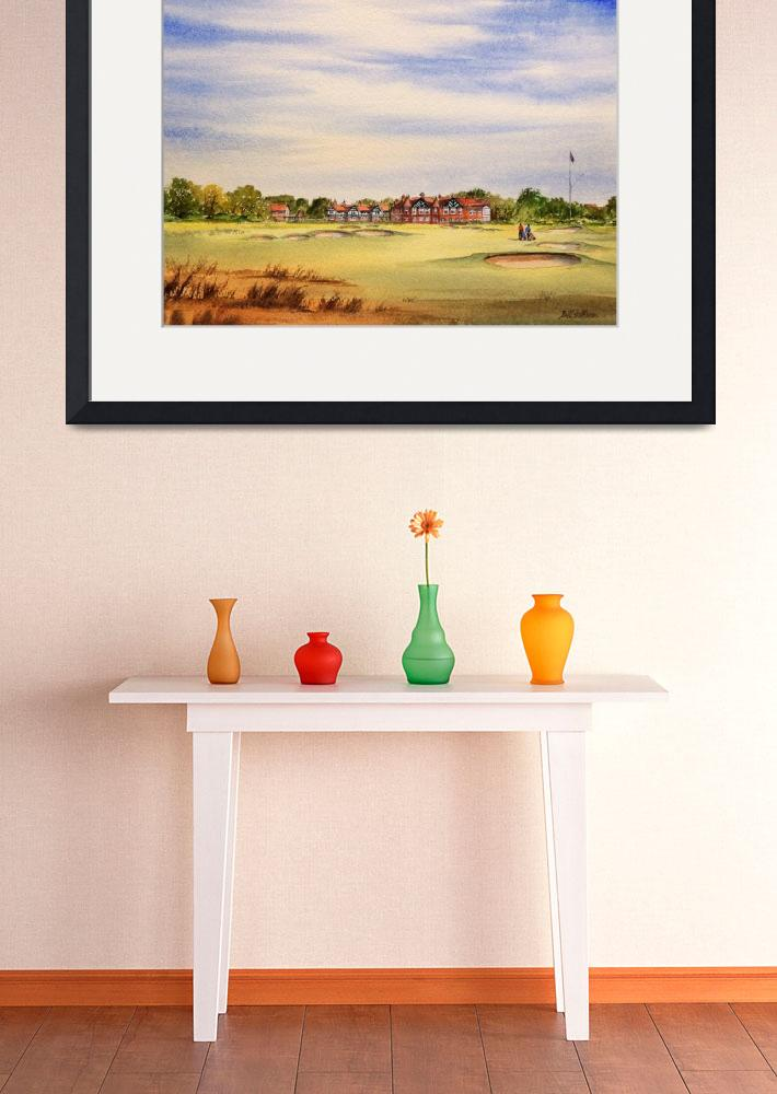 """Royal Lytham and St Annes 18Th Hole""  (2013) by billholkham"