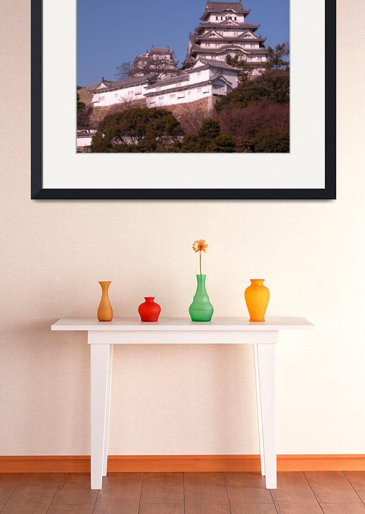"""""""view of Himeji Castle&quot  by ippi55"""