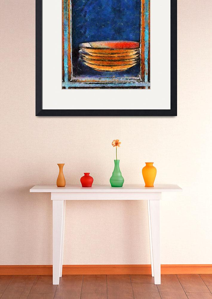 """""""Six Japanese Bowls&quot  (2014) by RCdeWinter"""