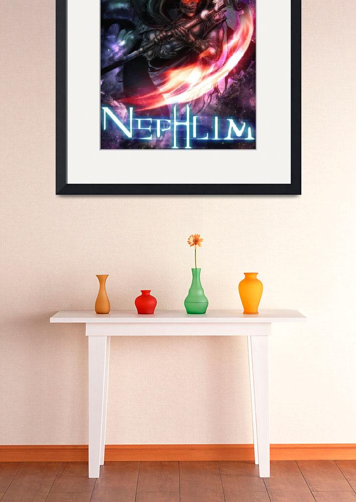 """""""Nephlim Character Poster 1""""  (2012) by Fallenmangastudios"""