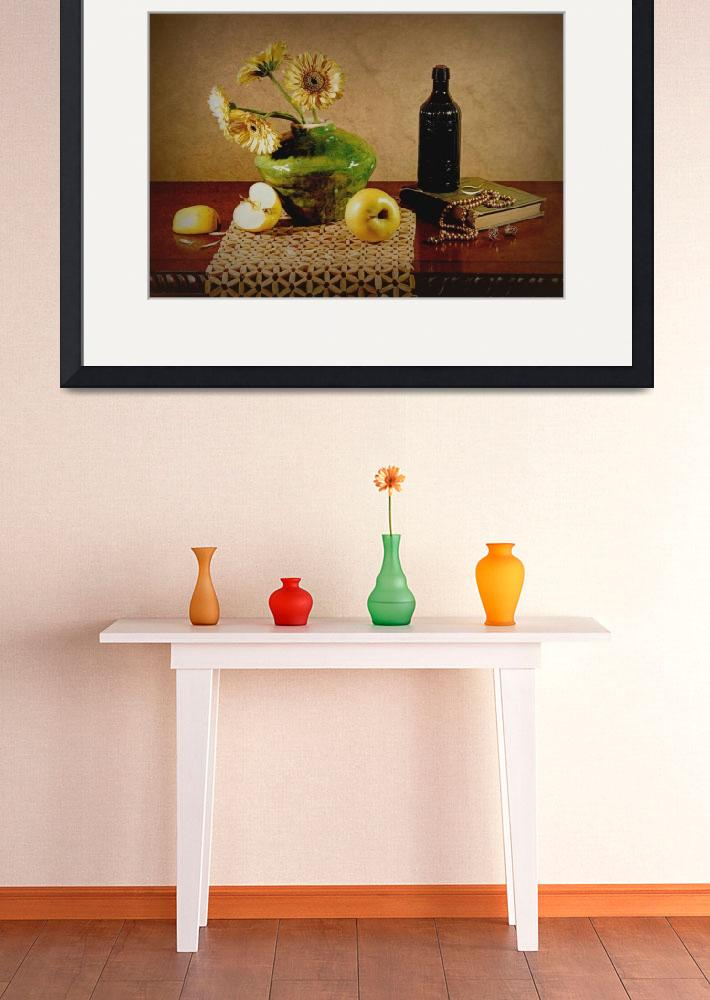 """Yellow Apples&quot  (2008) by DianaLeePhotoDesigns"
