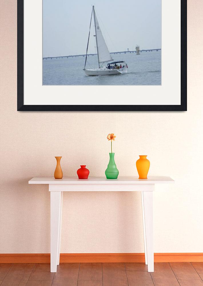 """""""The Sail-Boat 904&quot  (2010) by photographybydonna"""