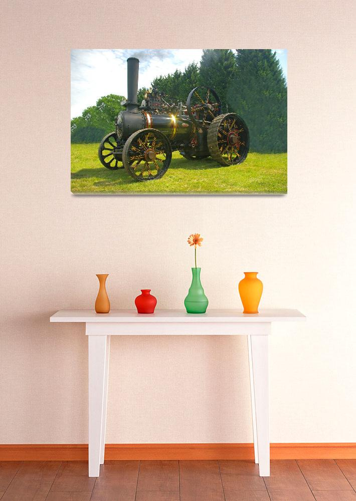"""Steam Traction Engine&quot  (2011) by loversdream"