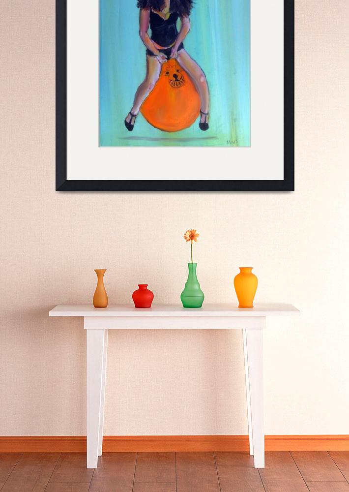 """Space Hopper""  (2012) by Shearart"