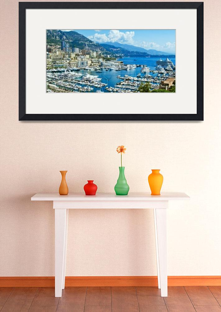 """""""Monte Carlo Harbour&quot  (2014) by mjphoto-graphics"""