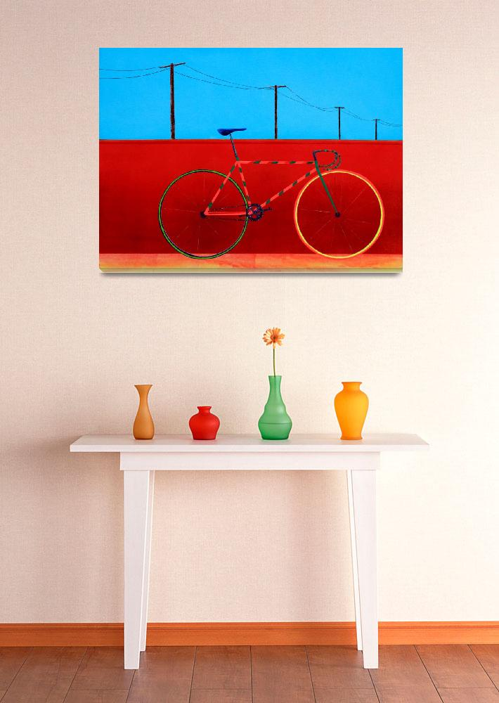 """MY BIKE AT REST&quot  (2010) by RandyEverett"