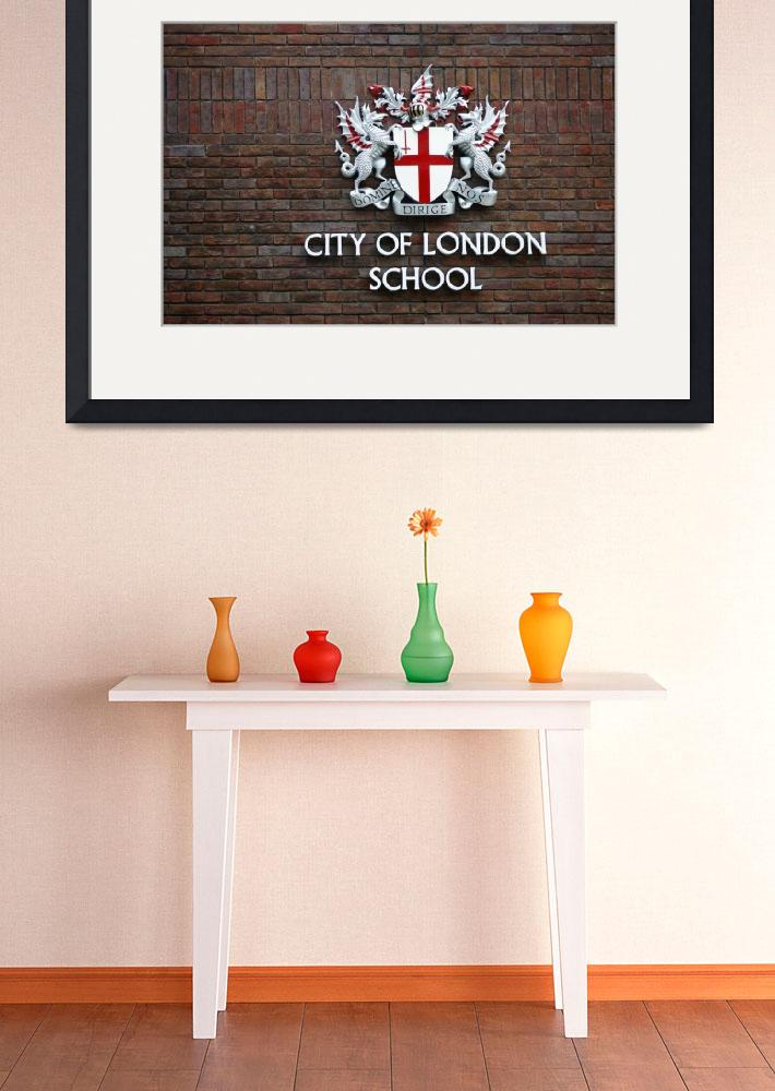 """""""City of London School""""  (2014) by ginton"""