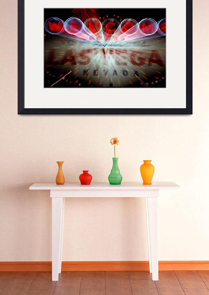 """""""Vegas Sign No. 5&quot  (2007) by PadgettGallery"""