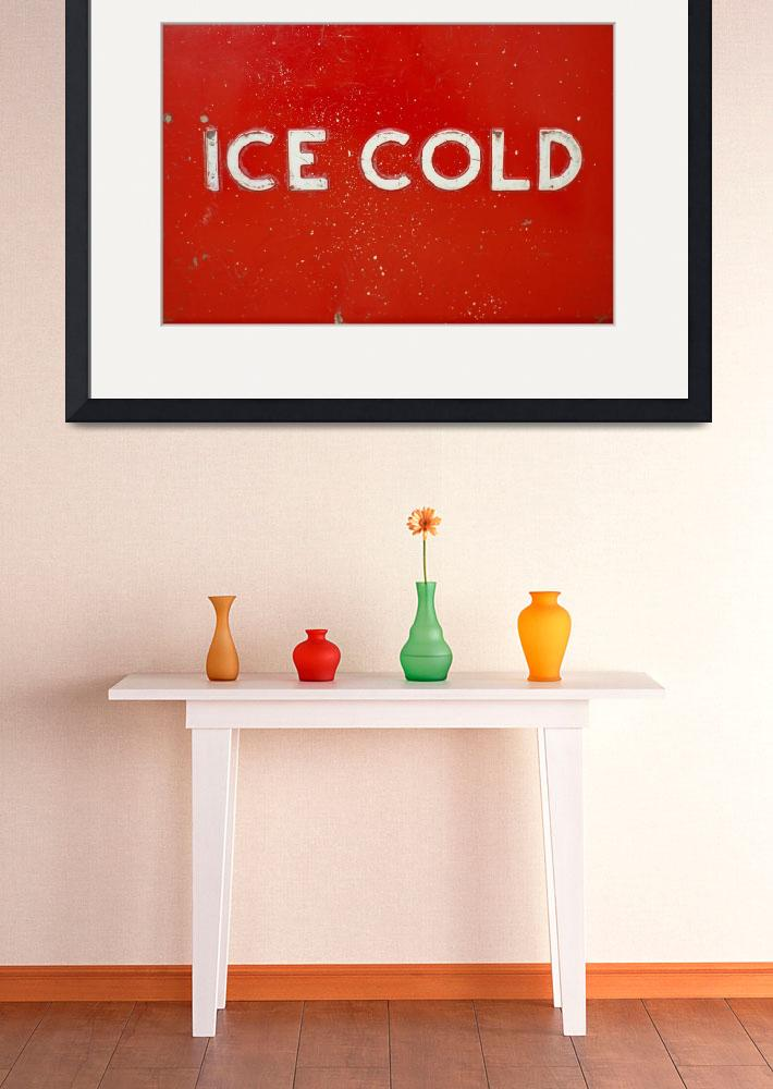 """""""Ice Cold Cola&quot  (2007) by brandonjennings"""