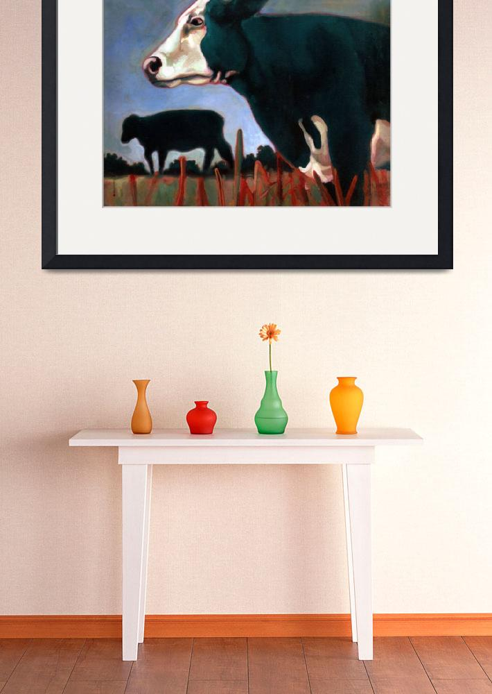 """""""Green Cows&quot  by MichaelGodey"""