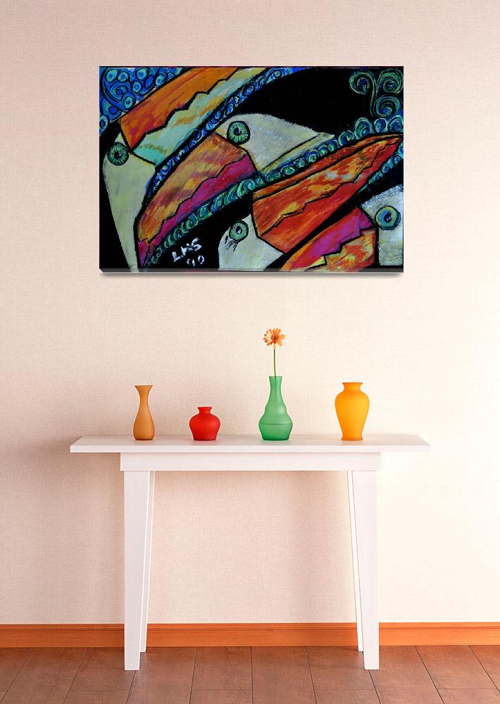 """""""Toucans""""  (2010) by LindaArt"""
