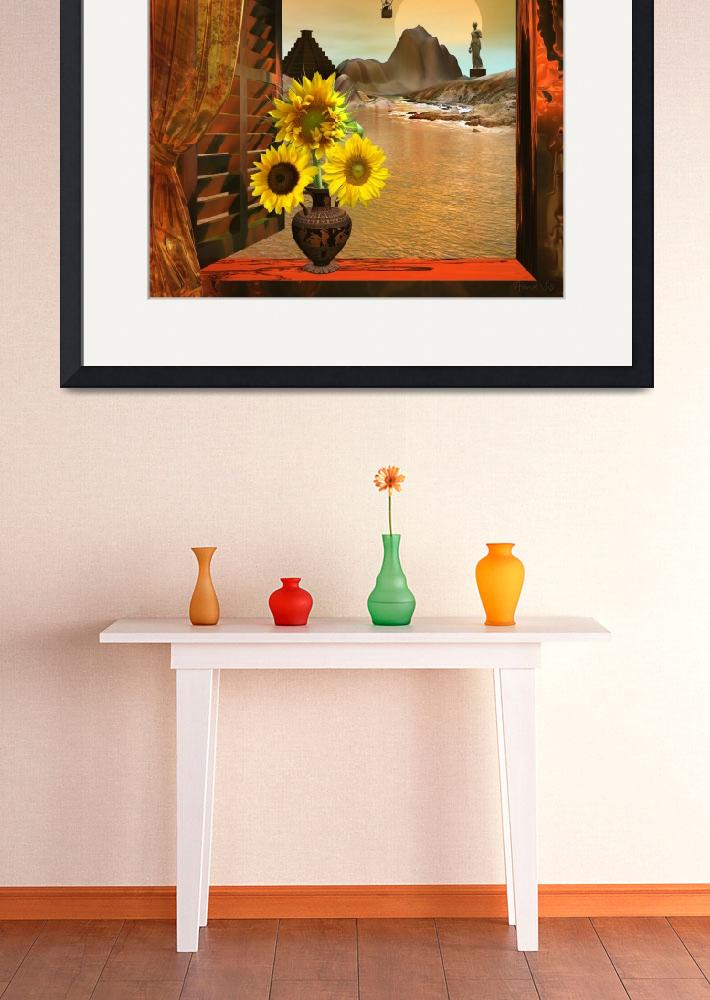 """""""Italian Sunflowers&quot  (2013) by AnneVis"""