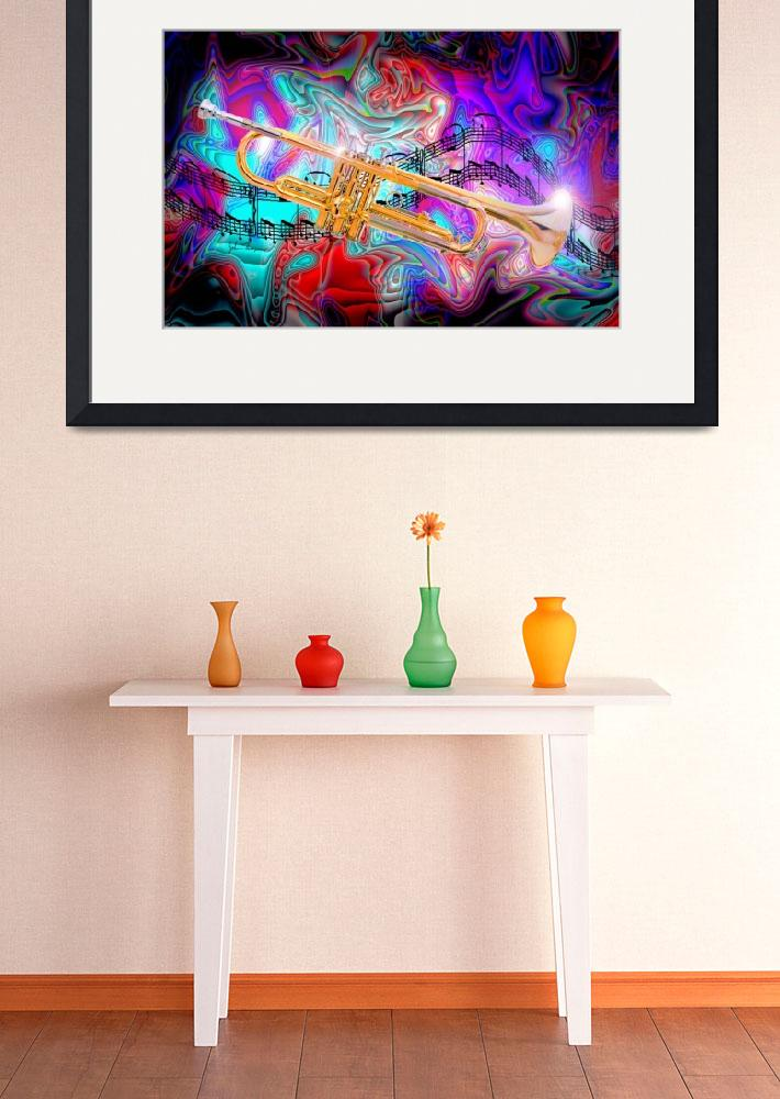 """""""Psychedelic Trumpet&quot  (2012) by jt85"""