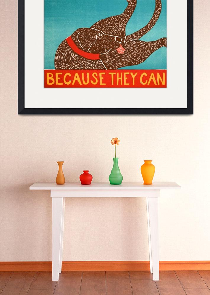 """""""Because they can choc&quot  by artlicensing"""