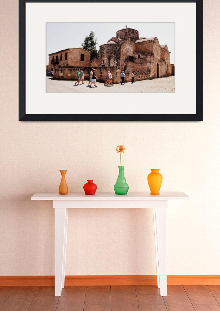 """""""Monastery of Saint Barnabas, Cyprus&quot  (2015) by Artsart"""