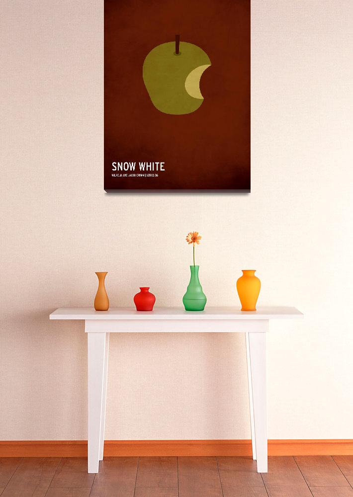 """""""Snow White&quot  (2010) by squareinchdesign"""