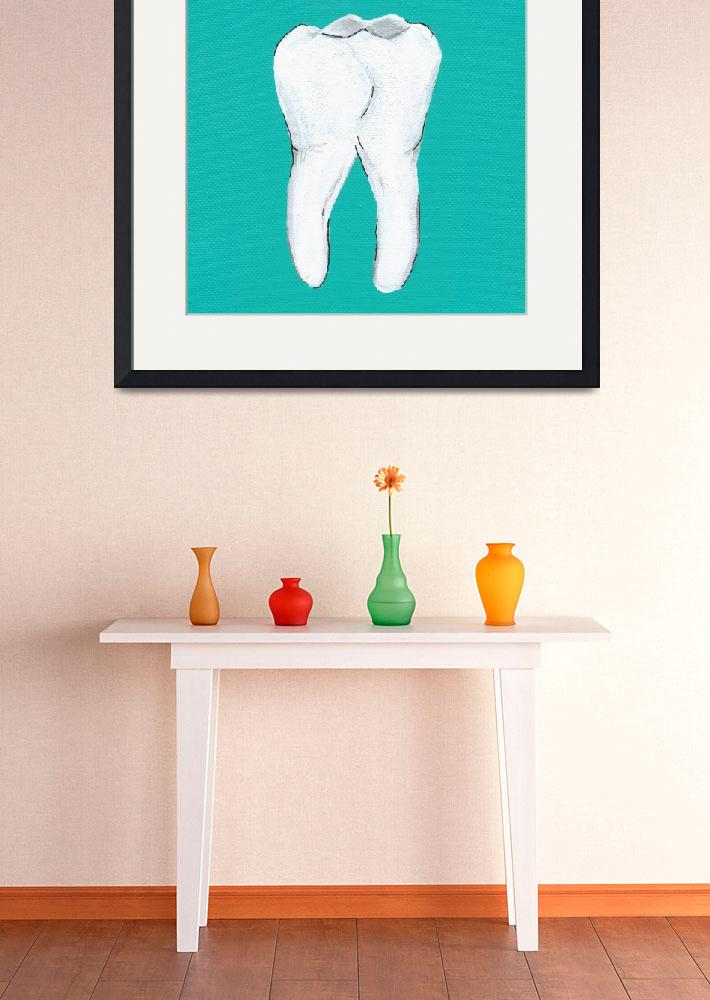 """T Is For Tooth&quot  (2010) by LibbyJohnston"