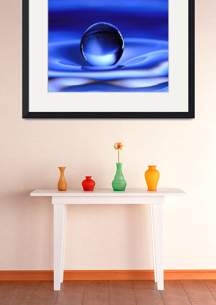 """""""Floating Water Drop&quot  (2006) by photocatphoto"""